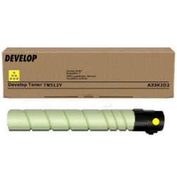 Develop ineo+454/+554 Toner Yellow TN512 /Eredeti/