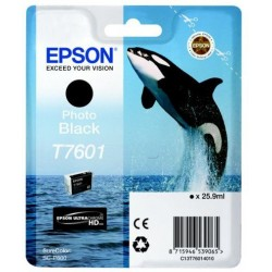 Epson T7601 Patron Photo Black 26ml (Eredeti)