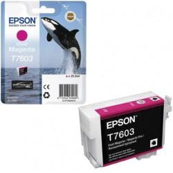 Epson T7603 Patron Magenta 26ml (Eredeti)