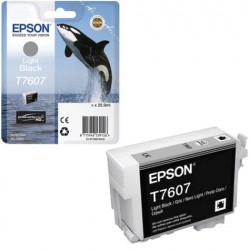 Epson T7607 Patron Light Bk 26ml (Eredeti)