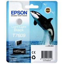 Epson T7609 Patron Light Light Black 26ml (Eredeti)