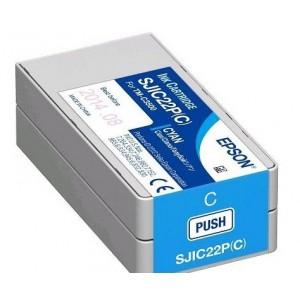 Epson C3500 Patron Cyan 32,5ml /orig/ *