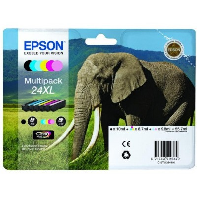 Epson T2438 Patron Multipack High Capacity 24XL (Eredeti)
