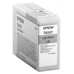 Epson T8507 Patron Light Black 80 ml /original/