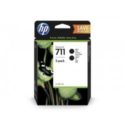 HP P2V31A Patron Bk No.711 2pack /o/