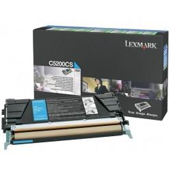 Lexmark C530 toner, Cyan 1,5K (Eredeti) C5200CS