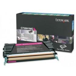 Lexmark C736,X736,738 toner magenta(Eredeti) C736H1MG