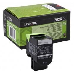 Lexmark 702K toner Bk. (Eredeti)  70C20K0