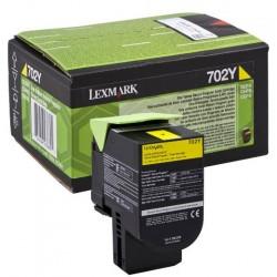 Lexmark 702Y toner Yellow (Eredeti)  70C20Y0
