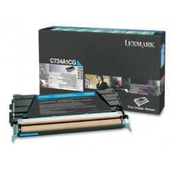 Lexmark C734/X734 toner cyan 6K (Eredeti)C734A1CG