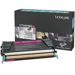 Lexmark C734/X734 toner Mag. 6K (Eredeti)C734A1MG