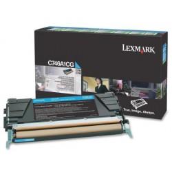 Lexmark C746,748 toner Cyan 7K (Eredeti)C746A1CG