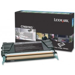 Lexmark C746,748 toner Bk. 12K (Eredeti) C746H1KG