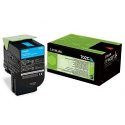 Lexmark 70C2XC0 (702XC) toner Cyan 4K (Eredeti) CS310/410