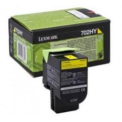 Lexmark 70C2HY0 (702HY) toner Yell. 3K(Eredeti) CS310/410