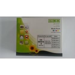 Utángyártott CANON CLI551XL Multipack /5 db /FU/ ECOPIXEL BR PGI550BK,CLI551BK,CLI551C,CLI551M,CLI551Y