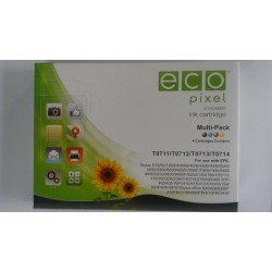 Utángyártott EPSON T07154010 Multipack (For Use) ECOPIXEL BRAND