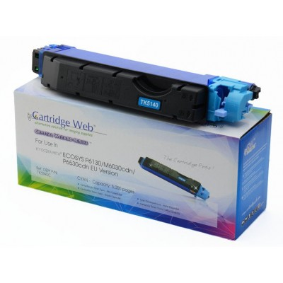 Utángyártott KYOCERA TK5140C Toner CYAN (For Use) CartridgeWeb