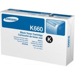 Samsung CLP 610/660A Black Toner 2,5K(Eredeti) CLP-K660A/ELS (ST899A)