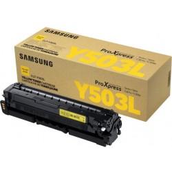 Samsung SLC3010/3060 Yellow Toner (Eredeti) CLT-Y503L/ELS (SU491A)