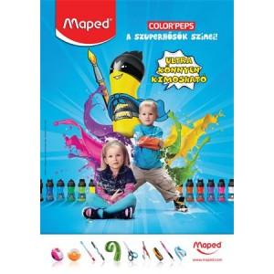 Plakát, A2, MAPED festék